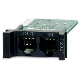 APC Surge Protection Module for RS-232, Replaceable, 1U, for use with PRM4 or PRM24 Rackmount Chassis (P232R)