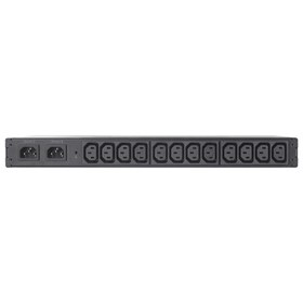 APC RACK ATS, 10A/230V, 12A/208V, C14 IN, (12) C13 OUT (AP7721)